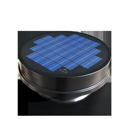 Solar Powered Attic Fan - Embedded Series
