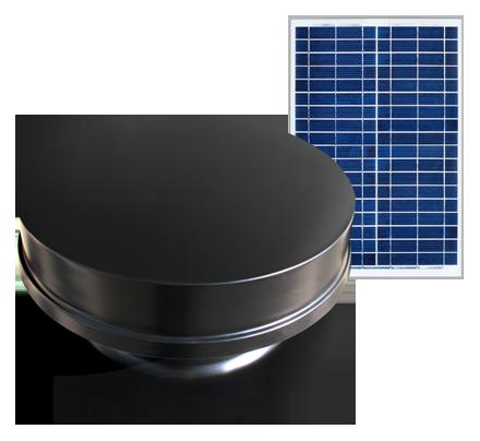 Solar Powered Attic Fan - Remote Series